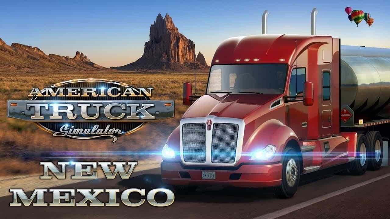 American Truck Simulator New Mexico herunterladen frei PC
