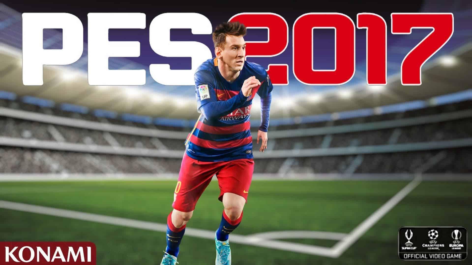 Pro Evolution Soccer 2017 PC Kostenlos Herunterladen