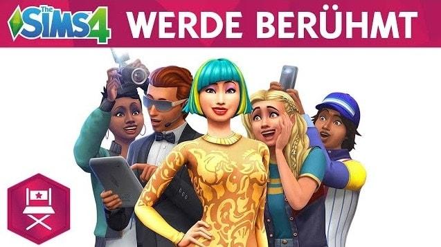 Sims 4 Werde Berühmt PC herunterladen