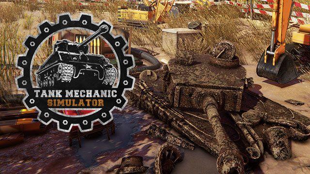 Tank Mechanic Simulator spielen pc