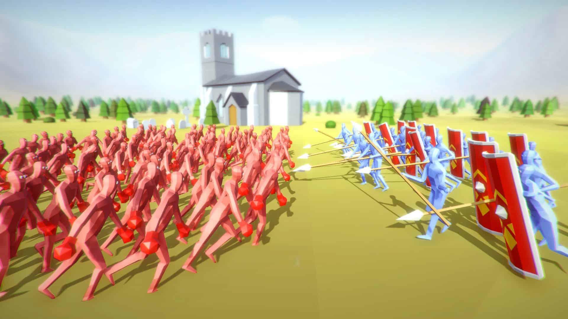 Totally Accurate Battle Simulator Spielen