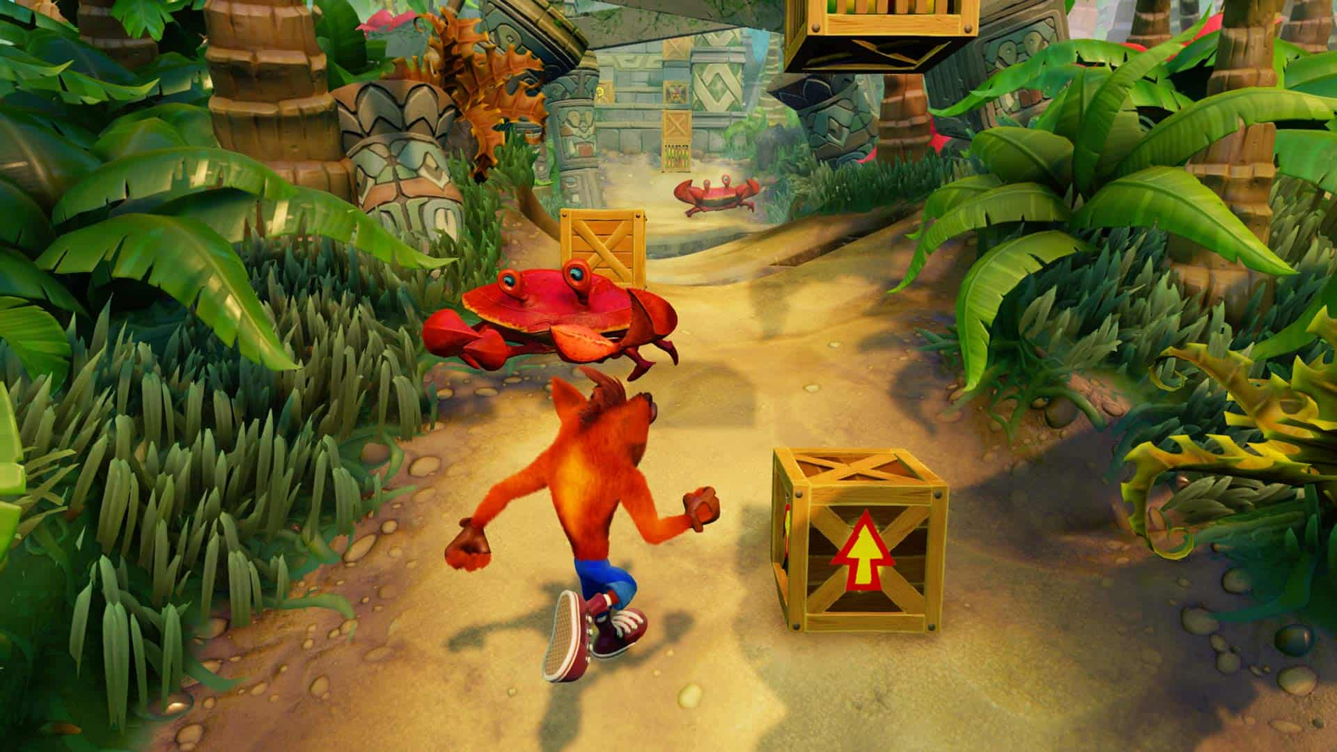 Crash Bandicoot™ N. Sane Trilogy Niveau Stormy Ascent