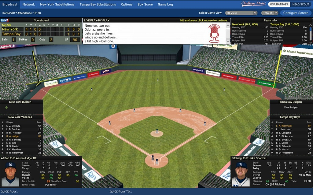 Out of the Park Baseball 18 kostenlos
