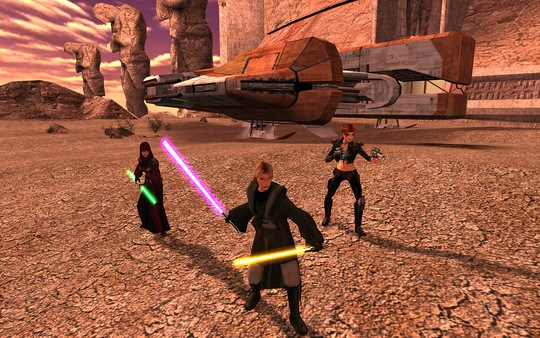 STAR WARS Knights of the Old Republic II The Sith Lords kostenlos