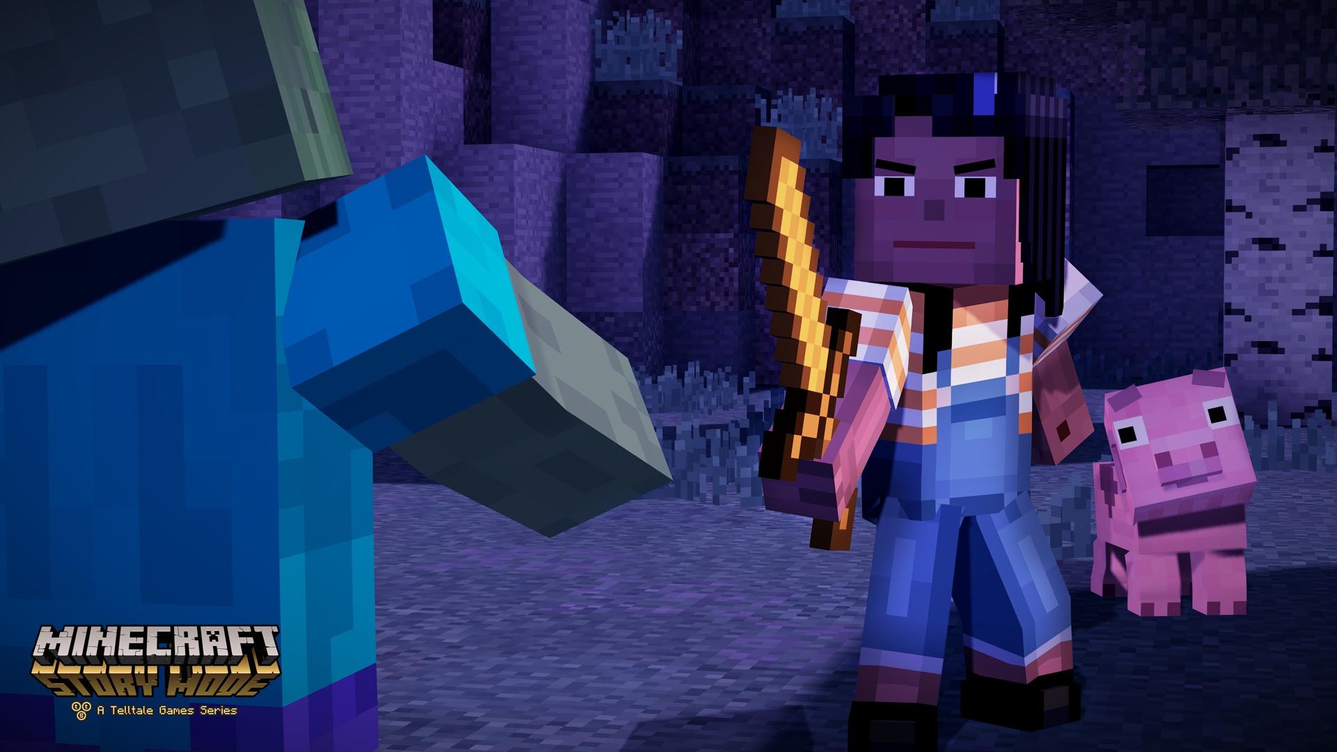 Minecraft Story Mode image #1