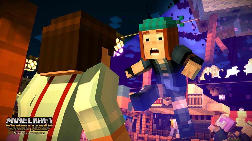 Minecraft Story Mode image #4