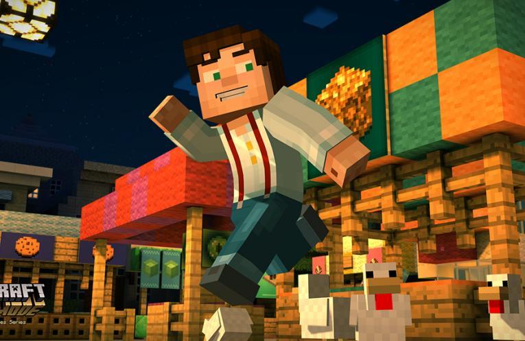 Minecraft Story Mode image #3
